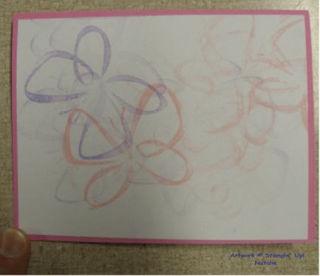 Natalie's first card