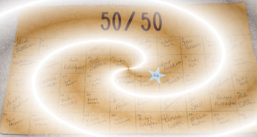 50-50 winner 2