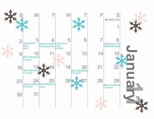 Here is my January 2011 Calendar thanks to My Digital Studio.